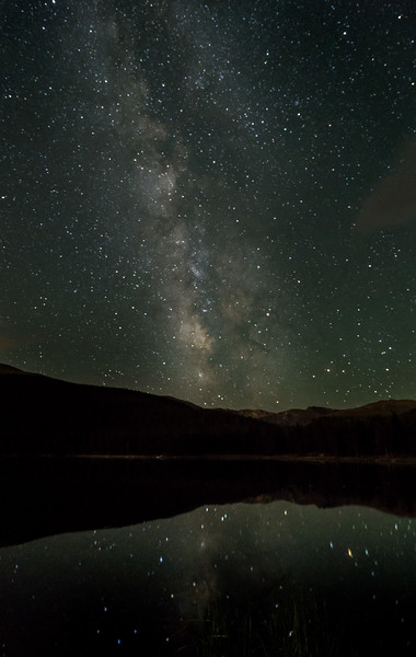 Frankieboy Photography |  Milky Way At Echo Lake | Mount Evans Colorado