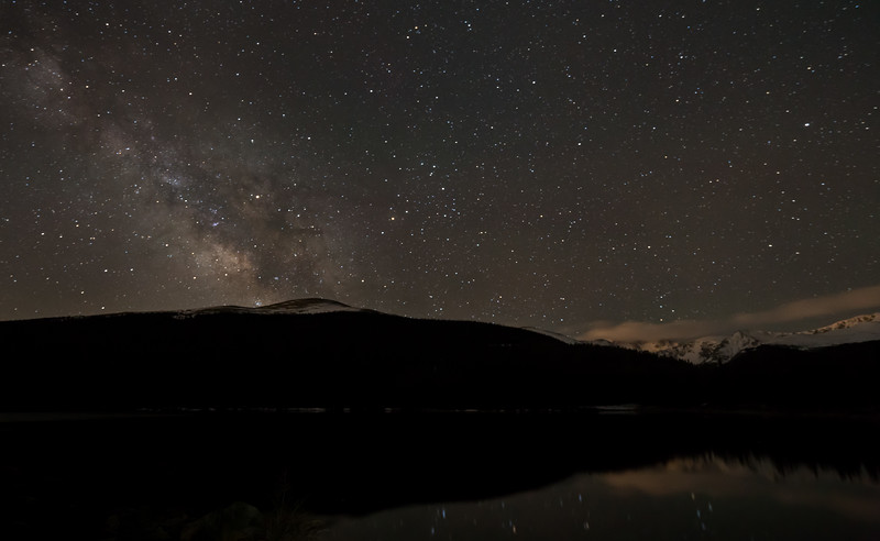Frankieboy Photography |  Lake, Mountains, And Milky Way | Echo Lake Colorado
