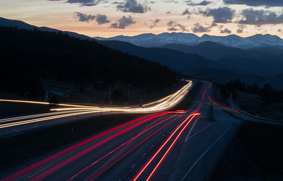 Frankieboy Photography |  Long Exposure Above |  Genese Parkway Colorado