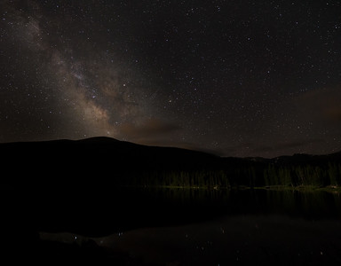 Frankieboy Photography |  Milky Way Over Echo Lake Astrophotography | Mount Evans Colorado