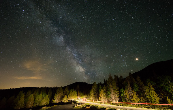 Frankieboy Photography    Road Towards The Milky Way   Rocky Mountain National Park Colorado