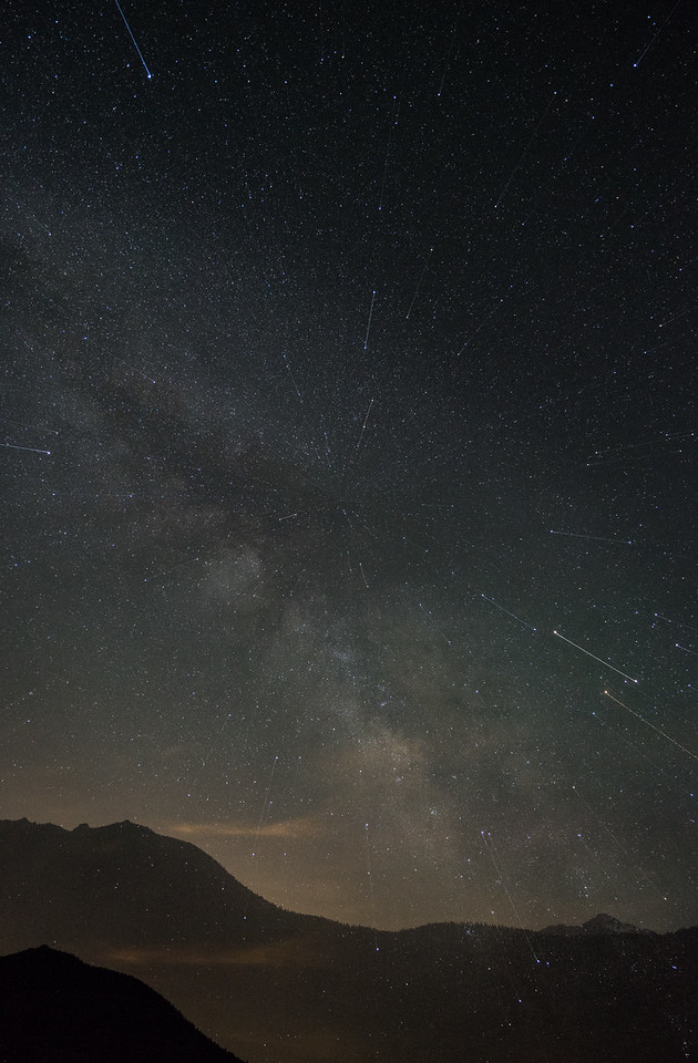 Vortex Star Trails | Rocky Mountain National Park Colorado