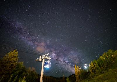 Milky way Vail Resorts