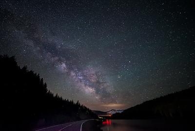Milkyway Rocky Mountains