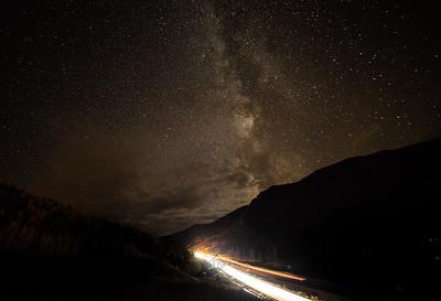 I70 Car Trails x Milkyways