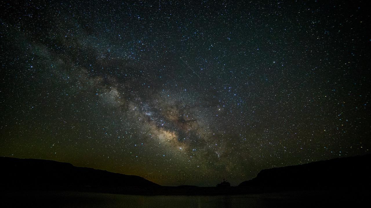 The Milky Big Sur Way
