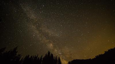 Golden Milkyway Utah