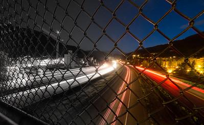 Pedestrian Bridge Long Exposure