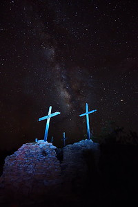 Terlingua Ghost Town Cemetery Graves Sites