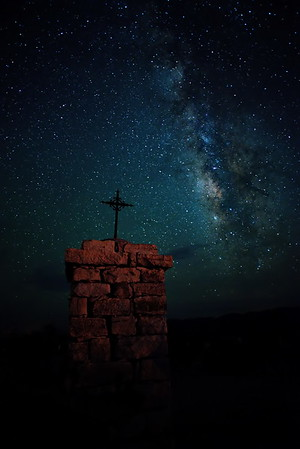 Astro-Photography:  Terlingua Ghost Town-BBNP & Milky Way