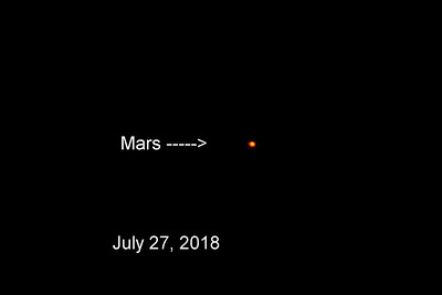 Mars.....At Its Closest to Earth