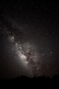 Milky Way at the McDonald Observatory