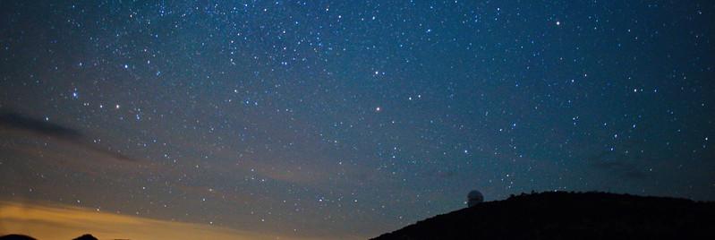 McDonald Observatory & Night Sky on June 2, 2017