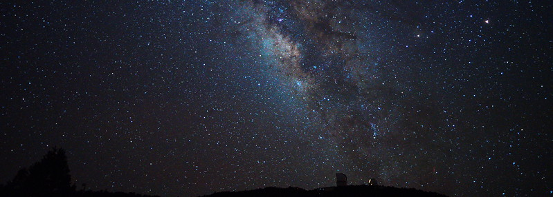 McDonald Observatory and Milky Way