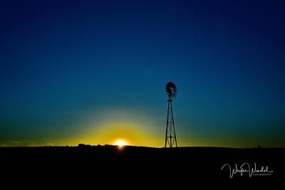 Sundown at the Windmill