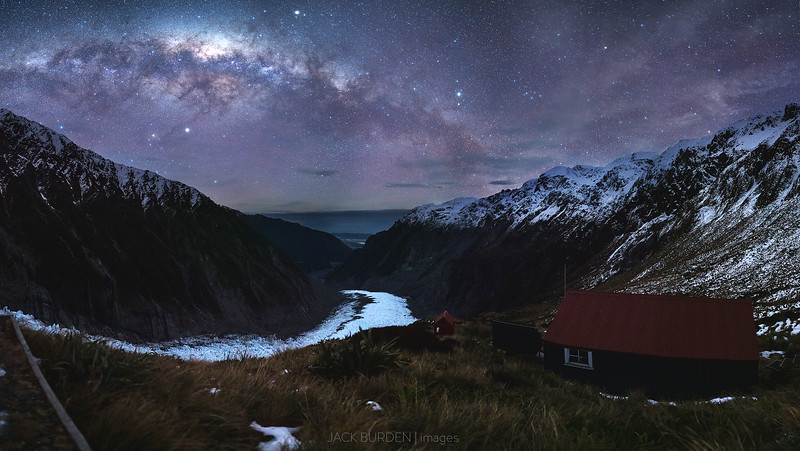 Chancellor Hut Milky Way