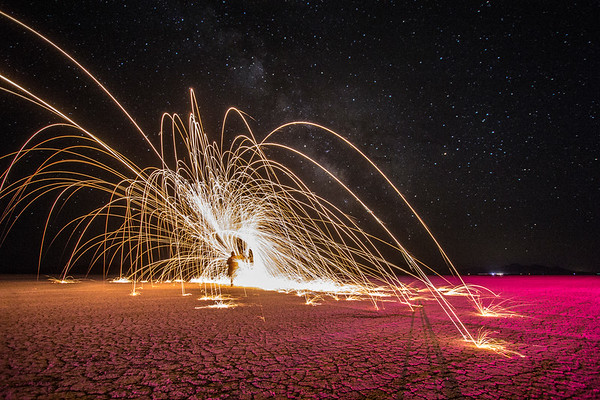Steel Wool Spinning (pt. 1)
