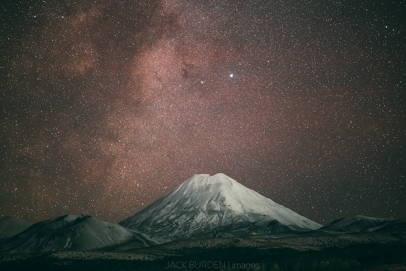 Mount Doom Under The Stars