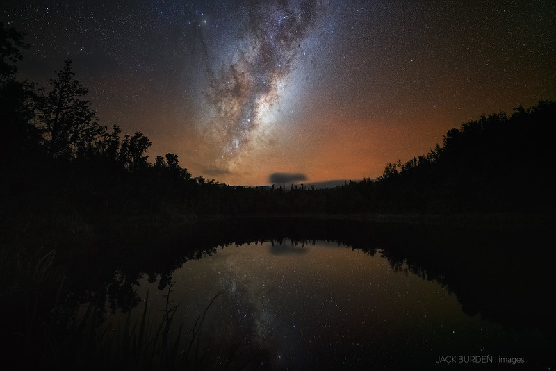 Lake Hanlon Milky Way