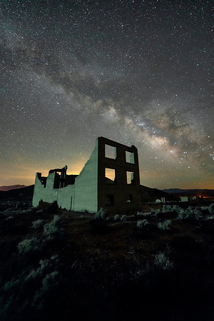 Rhyolite After Dark