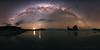Wharariki Arch Milky Way