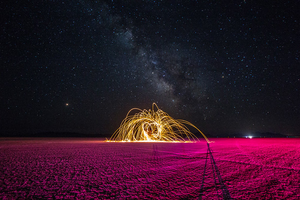 Steel Wool Spinning (pt. 2)