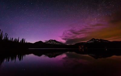 Sparks Lake Aurora