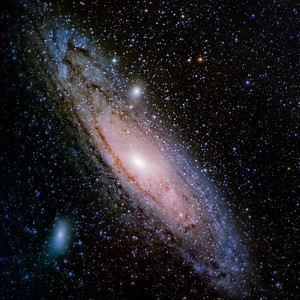 Andromeda Galaxy! Ginny's first CCD Picture.