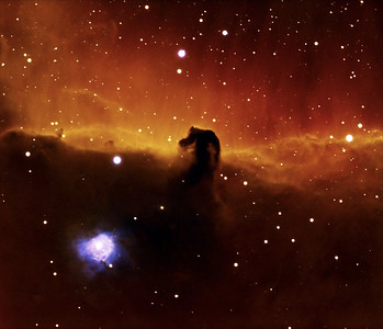 Our First Crack at the HorseHead Nebula from California