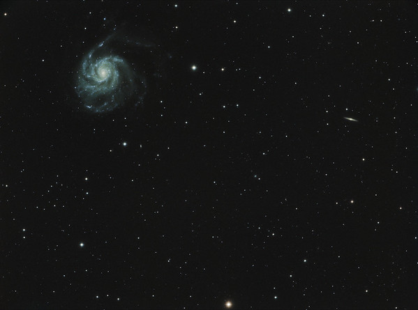 Pinwheel Galaxy from Little Blair Valley