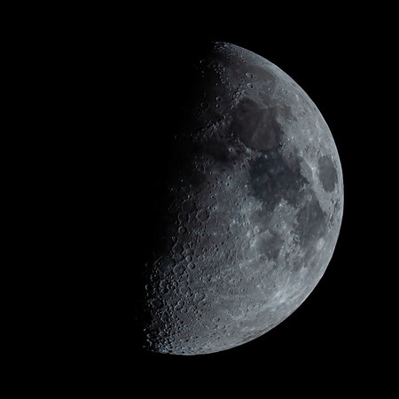 Waxing Gibbous Moon 59% illuminated taken 30th May 2020 at 11:11pm BST