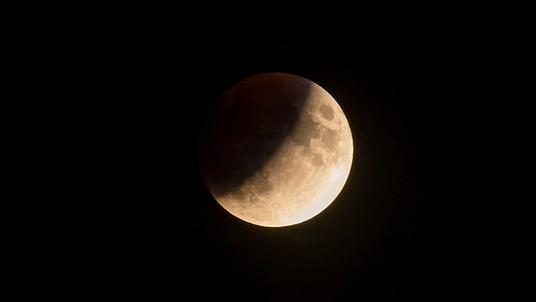 Full Moon - Partial Lunar Eclipse