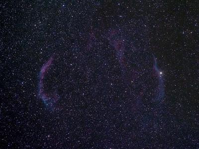 NGC 6960 + NGC 6992 Veil nebula