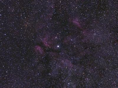 Gamma Cygnus (Sadr) region