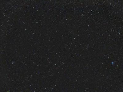Widefield (± 23° x 15°) view of Virgo galaxy cluster.