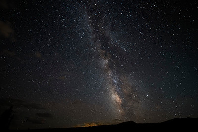 Milky Way over Sheep Mountain