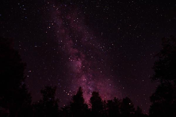 Custer's Gulch, SD Milky Way