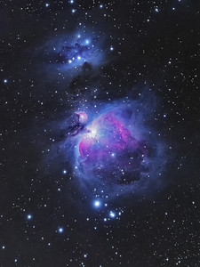 Orion nebula with Nikon D3s & Nikon 500mm f/4