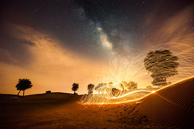 Milkyway under fire