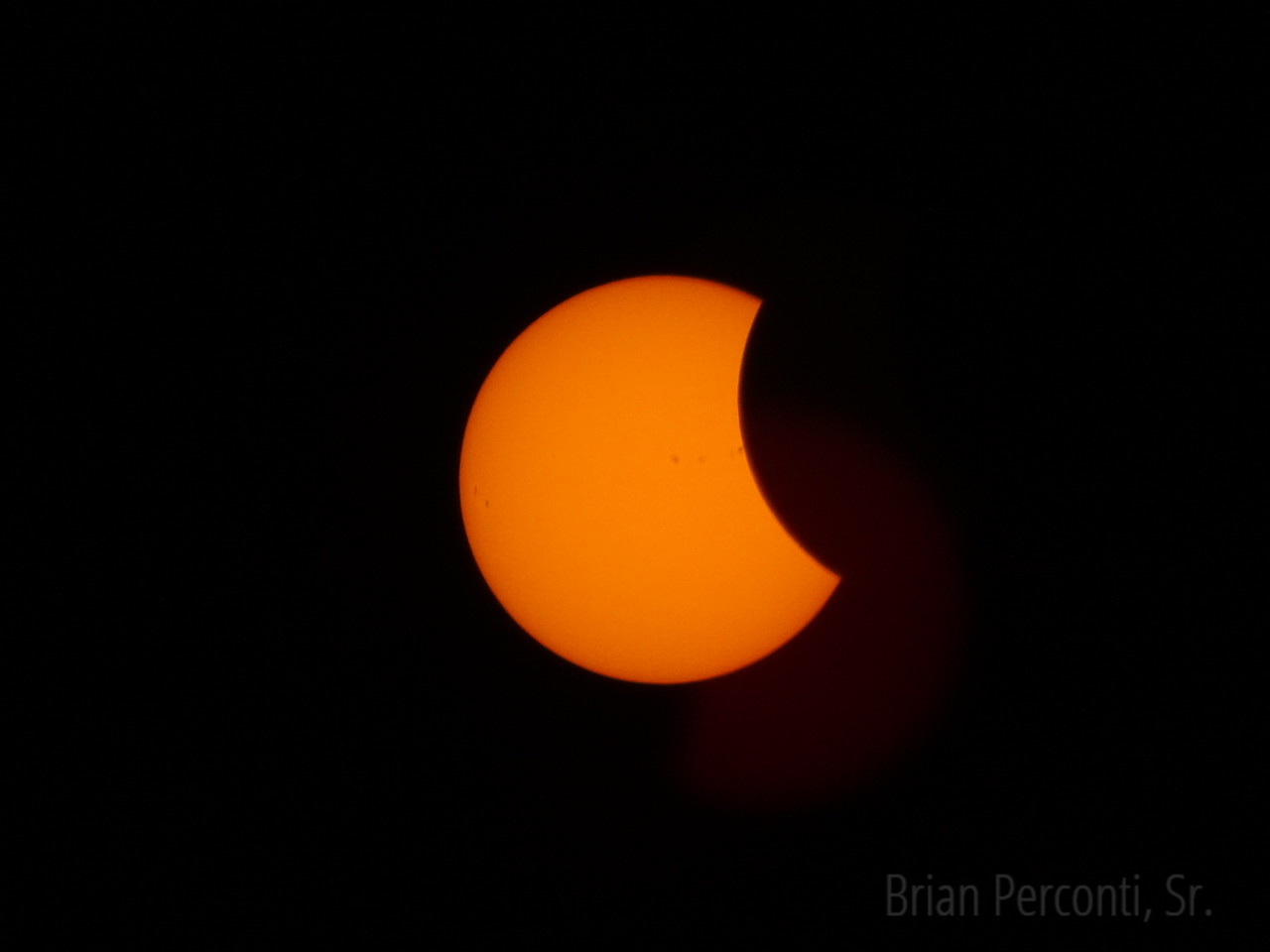 2017 Solar Eclipse, Lake Marion, South Carolina