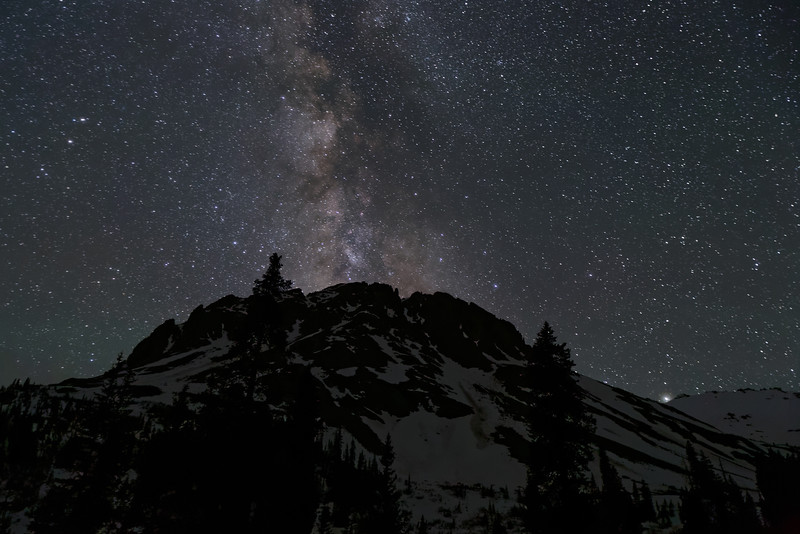 Milky Way taken from Yankee Boy Basin