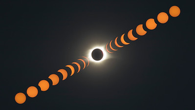 Full Transition of Solar Eclipse