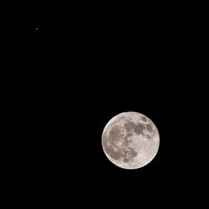 Our Moon, Jupiter and Jupiter's Moons