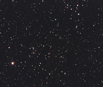 The Hercules Galaxy Cluster (crop)