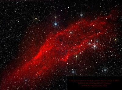 The California Nebula in Perseus – Version 2