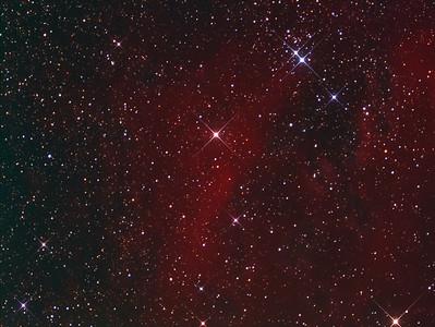 NGC2353 & LBN1036