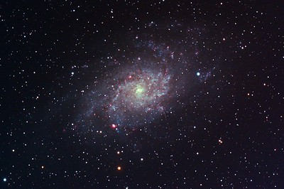 The galaxy M33 in Triangulum