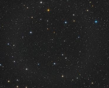 Star fields near the Draco Dwarf Galaxy