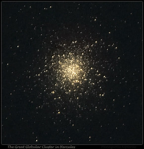 Messier 13 with Propeller