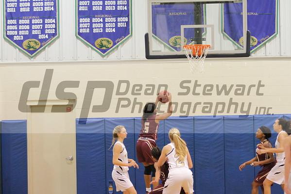 AHS Girls JV Basketball 12-2-16